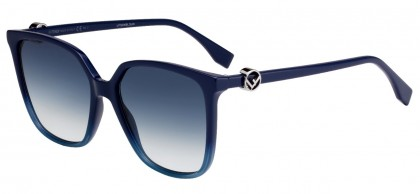 Fendi F IS FENDI FF 0318/S PJP/08 Blue - Blue Shaded