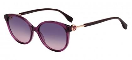 Fendi F IS FENDI FF 0373/S 0T7/O9 Violet - Violet Shaded