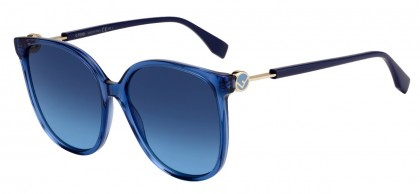 Fendi FENDI IS FENDI FF 0374/S PJP/08 Blue - Blue Shaded