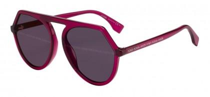 Fendi FENDI ROMA AMOR FF 0375/G/S 8CQ/XL Violet - Violet