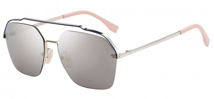 Fendi FENDI FANCY FF M0032/S 3YG/UE Pale Gold - Grey