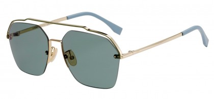 Fendi FENDI FANCY FF M0032/S J5G/O7 Gold - Green