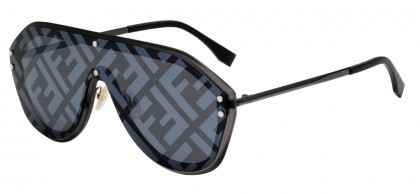Fendi FENDI FABULOUS FF M0039/G/S V81/MD Ruthenium Black - Grey