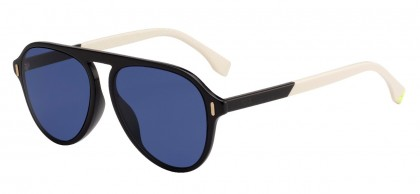 Fendi FENDI GLASS FF M0055/G/S 09Q/KU Dark Brown - Blue