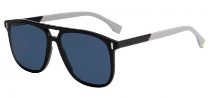 Fendi FENDI GLASS FF M0056/S 807/KU Black - Blue