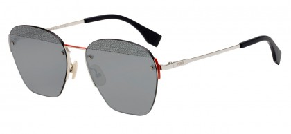 Fendi F IS FENDI FF M0057/S 010/T4 Palladium - Silver