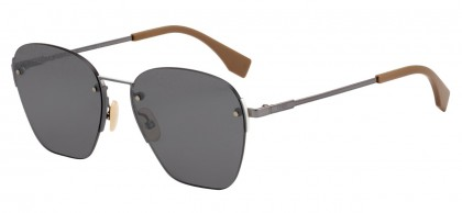 Fendi F IS FENDI FF M0057/S 807/T4 Black - Grey