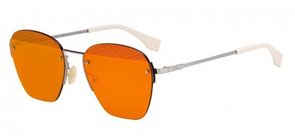 Fendi F IS FENDI FF M0057/S C9A/UW Silver - Orange
