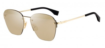 Fendi F IS FENDI FF M0057/S J5G/VP Gold - Gold