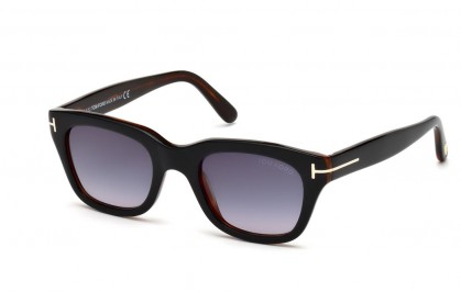 Tom Ford FT0237 05B Black Havana - Grey Shaded