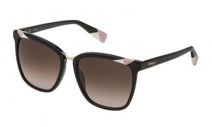 Furla SFU230 700K Black Shiny - Brown Gradient Pink