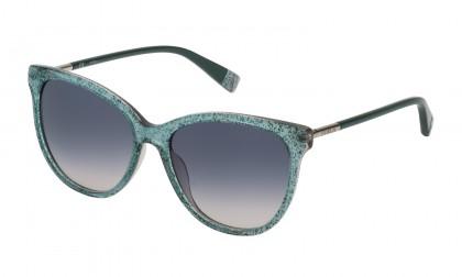 Furla SFU232 02AQ Green Glitter Shiny - Blue Gradient Pink