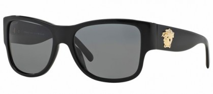 Versace ROCK ICONS MEDUSA VE 4275 GB1/81 Black - Grey Polarized