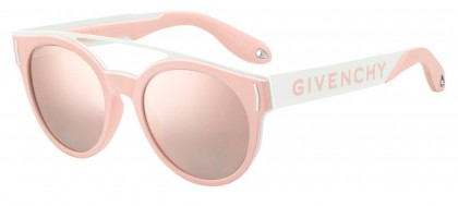 Givenchy GV 7017/N/S W6Q (0J) Pink White Ivory - Grey Rosegd Mirror