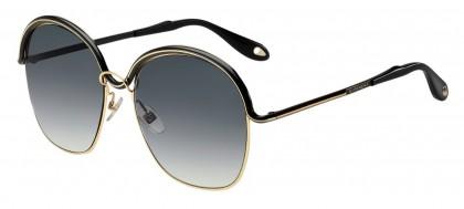 Givenchy GV 7030/S DYD (9O) Gold Black - Dark Grey Gradient