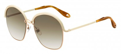 Givenchy GV 7030/S J1O (CC) Gold Beige - Brown Gradient