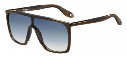 Givenchy GV 7040/S TIR (IT) Brown Black - Blue Gradient