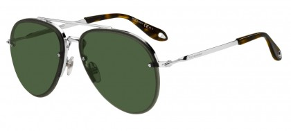 Givenchy GV 7075/S 010 (QT) Palladium - Green