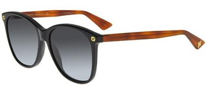 Gucci GG0024S-003 Black Havana - Shiny Grey