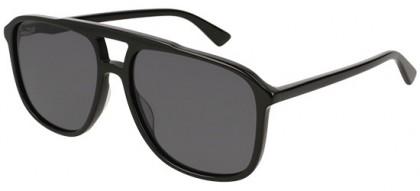 Gucci GG0262S-001 Black Black - Shiny Grey