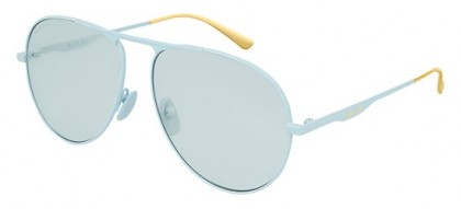 Gucci GG0334S-006 Light Blue - Shiny Light Blue Light Blue