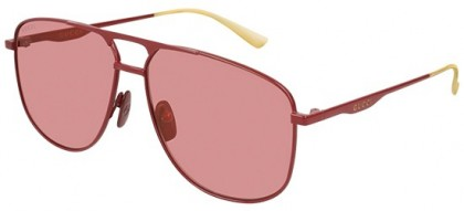Gucci GG0336S-004 Red Red - Shiny Red