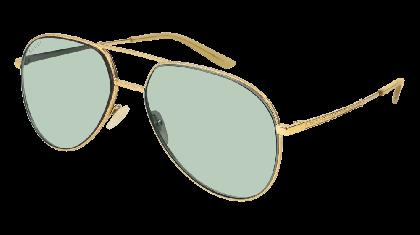 Gucci GG0356S-004 Shiny Gold - Green