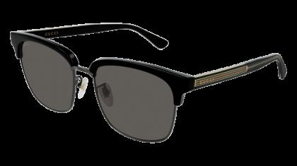Gucci GG0382S-001 Black - Grey Ruthenium