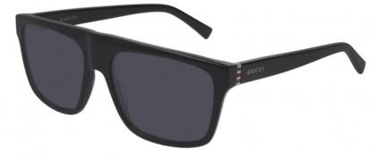 Gucci GG0450S-001 Black Shiny Black - Grey