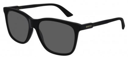 Gucci GG0495S-001 Black Shiny Black - Grey