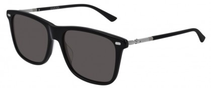 Gucci GG0518S-001 Black Shiny Ruthenium - Grey