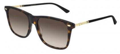 Gucci GG0518S-002 Havana Dark Gold - Brown