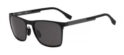 Hugo Boss BOSS 0732/S KCQ (Y1) Matte Black Carbon Black - Grey