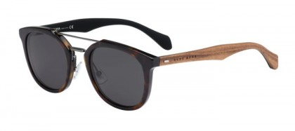 Hugo Boss BOSS 0777/S RAH (Y1) Havana Brown - Grey