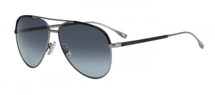 Hugo Boss BOSS 0782/S AGL (HD) Grey Black - Grey Shaded
