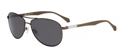 Hugo Boss BOSS 0824/S YZ4 (IR) Matte Brown - Grey