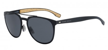 Hugo Boss BOSS 0882/S 0S2/IR Matte Black - Grey
