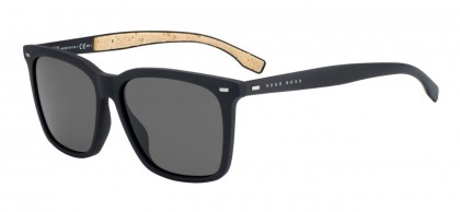Hugo Boss BOSS 0883/S 0R5/NR Matte Black - Grey Brown