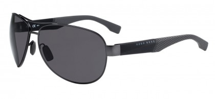 Hugo Boss BOSS 0915/S 1XQ/E5 Ruthenium Black - Grey