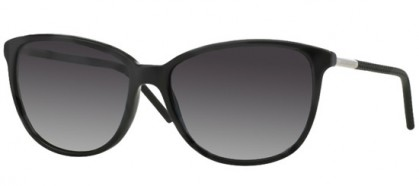 Burberry BE 4180 3001/8G - Black / Grey Shaded