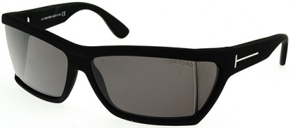 Tom Ford  SASHA FT0401 matte black/smoke (02A)