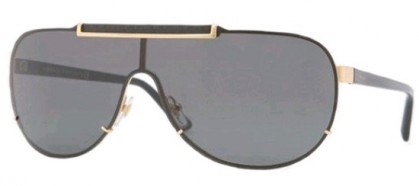 Versace VE 2140 1002/87 - Gold / Dark Grey