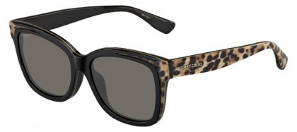Jimmy Choo BEBI/F/S PUE (NR) Black Animalier - Brown Grey