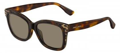 Jimmy Choo BEBI/F/S PUU (EJ) Havana Animalier - Brown
