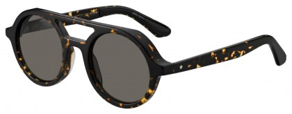 Jimmy Choo BOB/S 086 (IR) Dark Havana - Gray