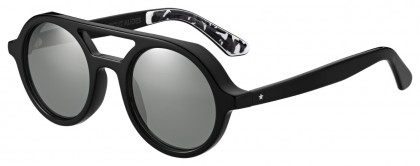 Jimmy Choo BOB/S 807 (T4) Black - Gray Flash Mirror
