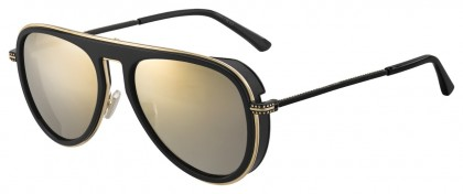 Jimmy Choo CARL/S 807 (K1) Black - Gold Mirror