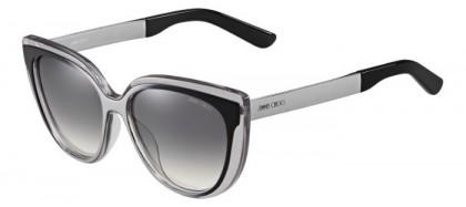 Jimmy Choo CINDY/S 1M0  (IC) Grey Ruthenium Black - Grey Gradient Mirror