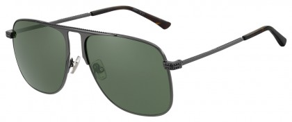 Jimmy Choo DAN/S KJ1 (QT) Ruthenium Black - Green