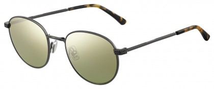 Jimmy Choo HENRI/S KJ1 (K1) Dark Ruthenium - Gold Mirror